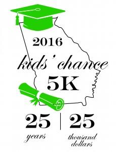 Raising $25,000 for 25 years of 5k runs!